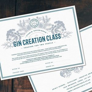Gin Creation Class  for 2 Gift Voucher