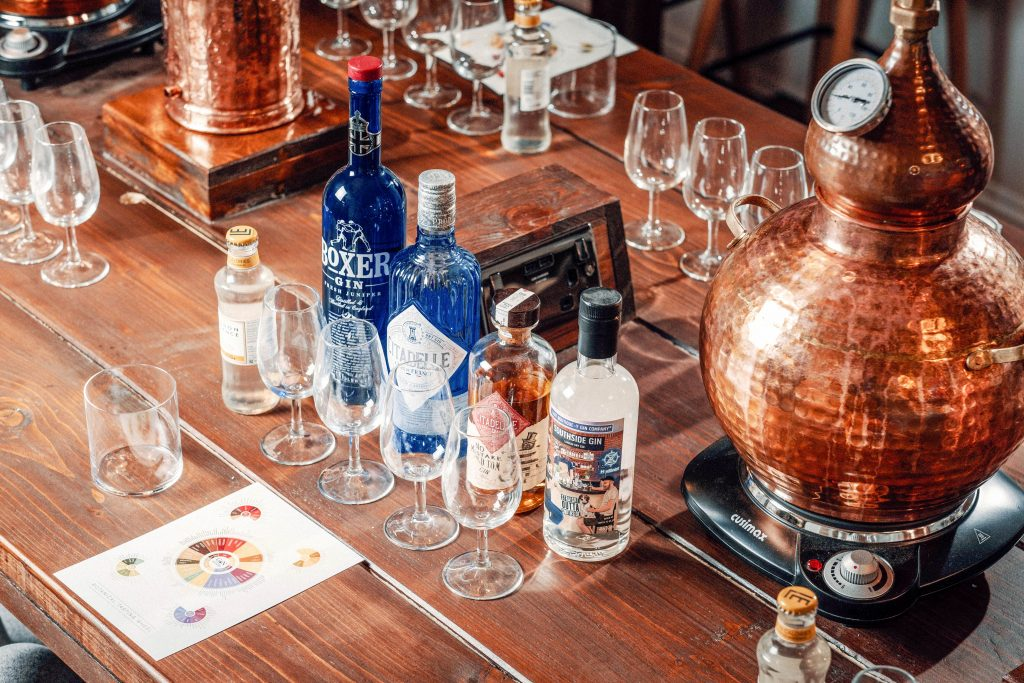 Blend your Own Gin Set Up