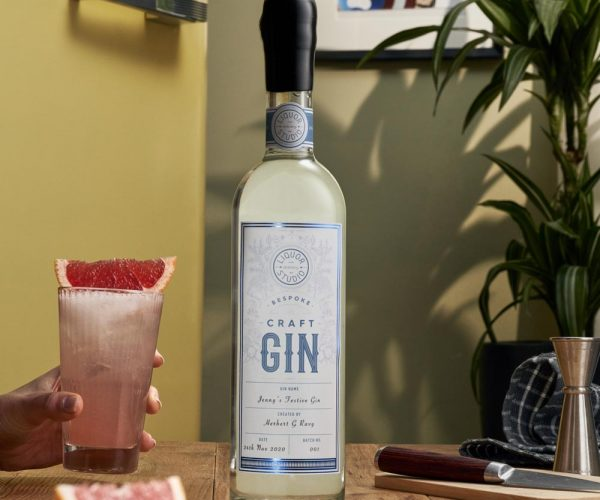 Bottle Gin + human elementDec 07 2020