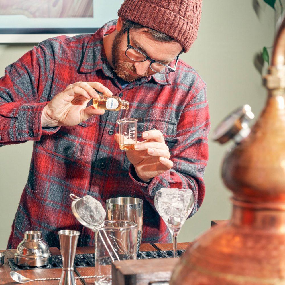 Jon Lee creating his own gin